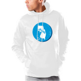 Under Armour White Armour Fleece Hoodie-New Jersey