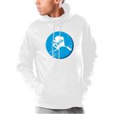 Under Armour White Armour Fleece Hoodie-Alaska