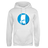 Russell DriPower White Fleece Hoodie-Mississippi