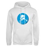 Russell DriPower White Fleece Hoodie-Alaska