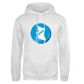 Russell DriPower White Fleece Hoodie-British Columbia