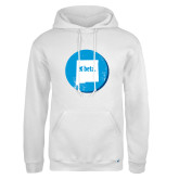 Russell DriPower White Fleece Hoodie-New Mexico