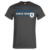 Charcoal T Shirt-Brothers/Founders Day