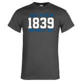 Charcoal T Shirt-Founders Day 1839