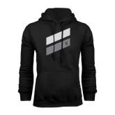 Black Fleece Hood-Stripe Design
