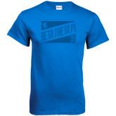 Royal T Shirt-Beta Theta Pi Triangles