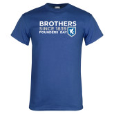 Royal T Shirt-Brothers/Founders Day