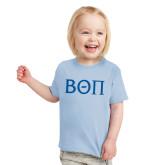 Toddler Light Blue T Shirt-Beta Theta Pi Greek Letters