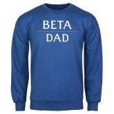 Royal Fleece Crew-Beta Dad Stacked