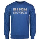 Royal Fleece Crew-Rush Lines Beta Theta Pi