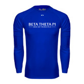 Under Armour Royal Long Sleeve Tech Tee-Beta Theta Pi