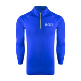 Under Armour Royal Tech 1/4 Zip Performance Shirt-Beta Theta Pi Greek Letters