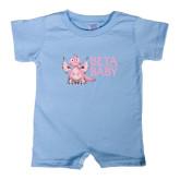 Light Blue Infant Romper-Beta Baby