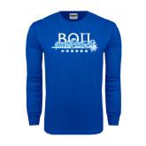 Royal Long Sleeve T Shirt-Beta Theta Pi Sword Design