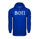 Under Armour Royal Performance Sweats Team Hoodie-Beta Theta Pi Greek Letters
