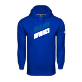 Under Armour Royal Performance Sweats Team Hoodie-Stripe Design