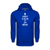 Under Armour Royal Performance Sweats Team Hoodie-Keep Calm and Go Beta