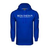 Under Armour Royal Performance Sweats Team Hoodie-Beta Theta Pi