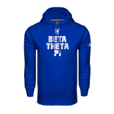 Under Armour Royal Performance Sweats Team Hoodie-Stacked BTP with pattern