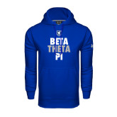 Under Armour Royal Performance Sweats Team Hoodie-Stacked BTP
