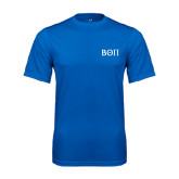 Syntrel Performance Royal Tee-Beta Theta Pi Greek Letters