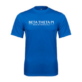 Syntrel Performance Royal Tee-Beta Theta Pi