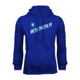 Royal Fleece Hood-Beta Theta Pi Diagonal