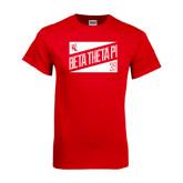 Red T Shirt-Beta Theta Pi Triangles