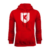 Red Fleece Hoodie-Official Shield