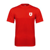 Syntrel Performance Red Tee-Official Shield