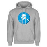 Grey Fleece Hoodie-Alaska