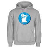 Grey Fleece Hoodie-Minnesota