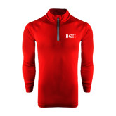 Under Armour Cardinal Tech 1/4 Zip Performance Shirt-Beta Theta Pi Greek Letters