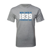 Grey T Shirt-Founders Day 1839
