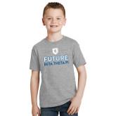 Youth Grey T-Shirt-Future Beta Theta w/Shield