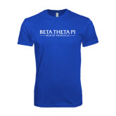 Next Level SoftStyle Royal T Shirt-Beta Theta Pi