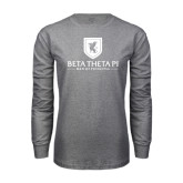 Grey Long Sleeve T-Shirt-Official Logo