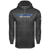 Under Armour Carbon Performance Sweats Team Hoodie-Beta 4 Life with Pattern