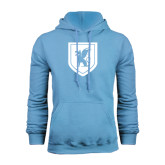 Light Blue Fleece Hood-Official Shield
