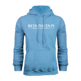 Light Blue Fleece Hood-Beta Theta Pi