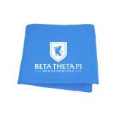 Light Blue Sweatshirt Blanket-Official Logo