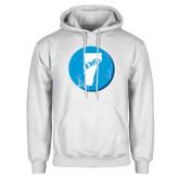 White Fleece Hoodie-Vermont
