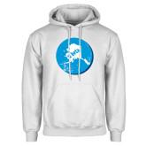 White Fleece Hoodie-Alaska