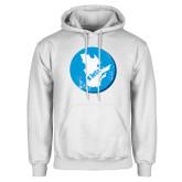 White Fleece Hoodie-Quebec