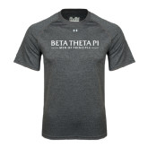 Under Armour Carbon Heather Tech Tee-Beta Theta Pi