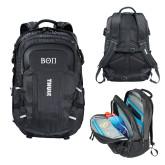Thule EnRoute Escort 2 Black Compu Backpack-Beta Theta Pi Greek Letters