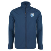 Navy Softshell Jacket-Official Shield