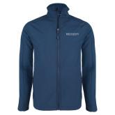Navy Softshell Jacket-Beta Theta Pi