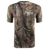 Realtree Camo T Shirt-Beta Theta Pi Greek Letters