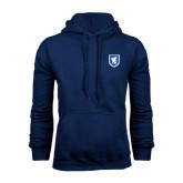 Navy Fleece Hoodie-Official Shield
